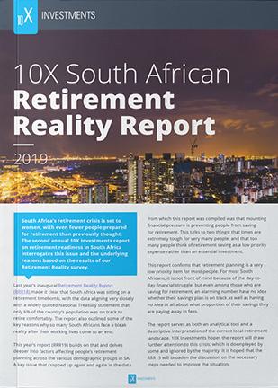 10X_SA_Retirement_Reality_Report_2019_Cover